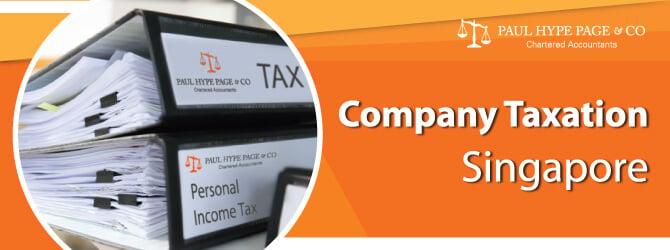 Singapore Company Taxation