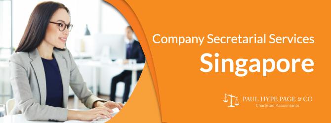 Company Secretarial Services in Singapore