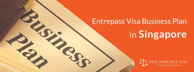 Singapore Entrepass Visa Business Plan