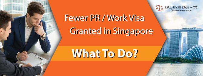 Fewer PR / Work Visa Granted In SG