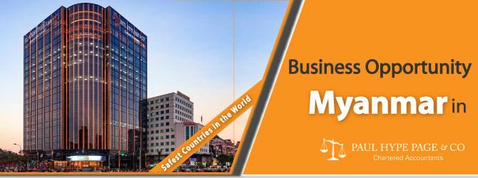 Myanmar 's Business Opportunity