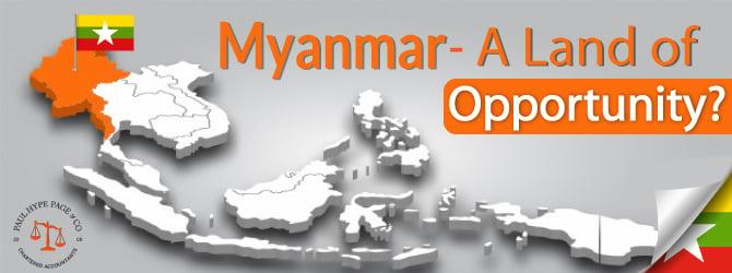 Myanmar Opportunity
