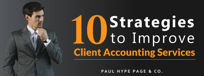 Strategies to Improve Client Accounting Services