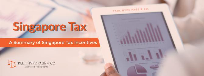 Singapore Tax Incentives