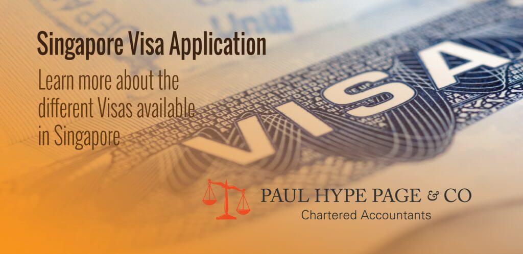 Singapore Visa Application Paul hype page