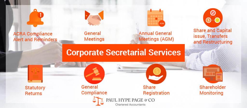 Company Secretary Service in Singapore
