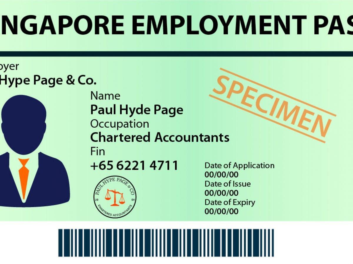 2020 Employment Pass In Singapore Update Singapore Employment Pass