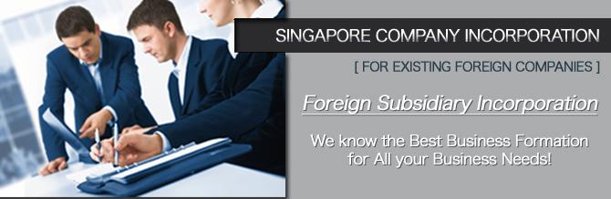 Foreign Subsidiary Incorporation