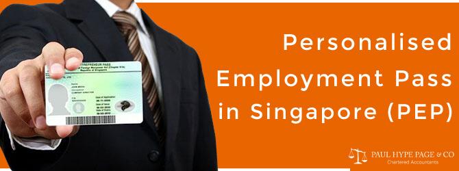 PEP in Singapore
