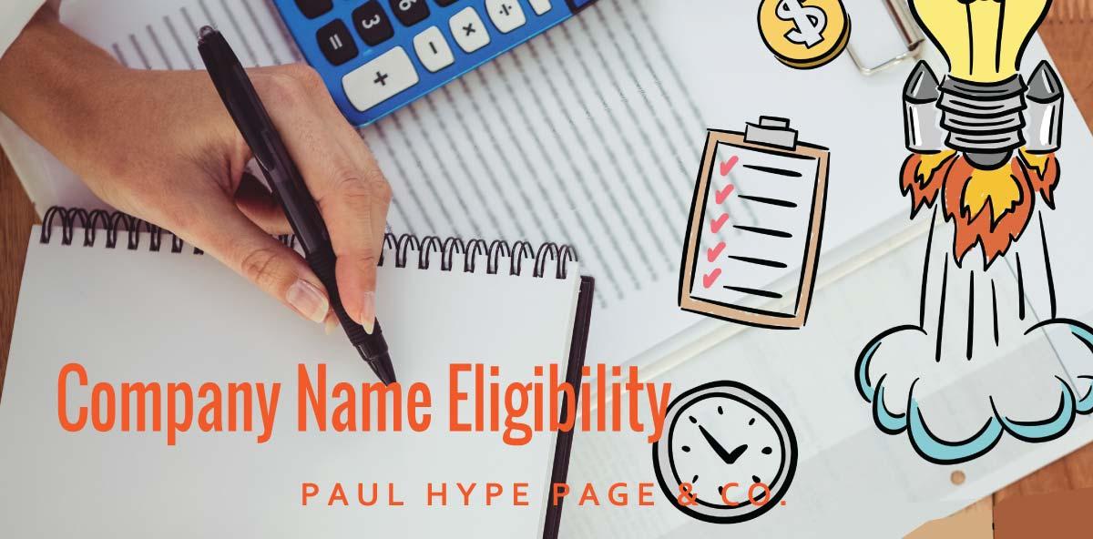 Company-Name-Eligibility