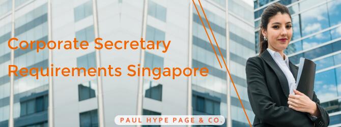 Corporate Secretary Requirements