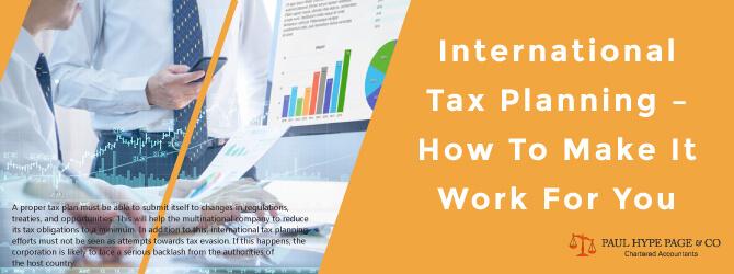 International Tax Planning PHP