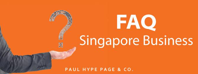 Singapore Business FAQ