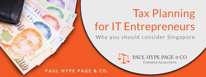 Tax Planning for IT Entrepreneurs