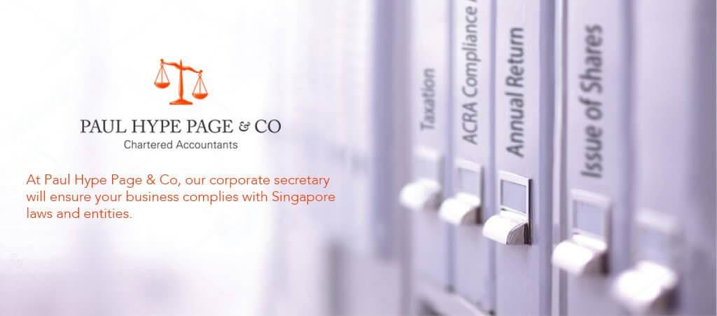 Corporate Secretary Services In Singapore