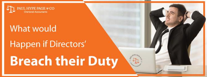 Directors' Breach their Duty