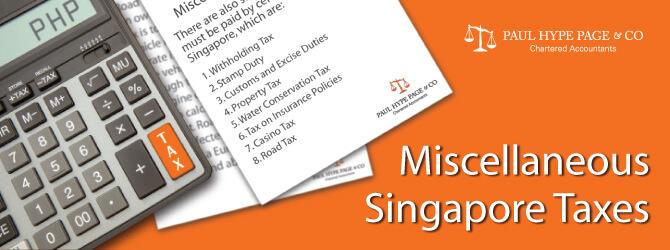 Singapore Taxes