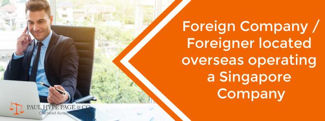 Singapore Foreign Company