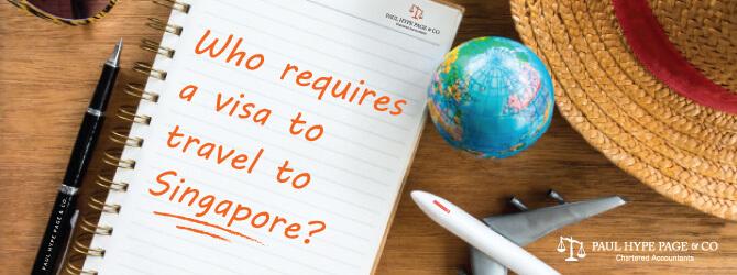 Visa to travel to Singapore