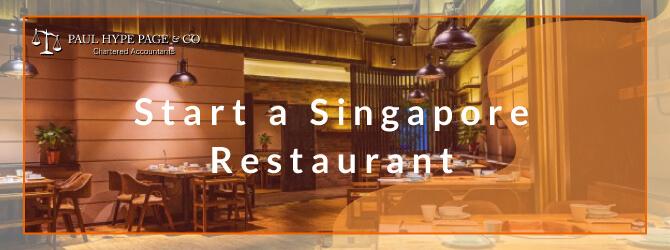 Start a SG Restaurant