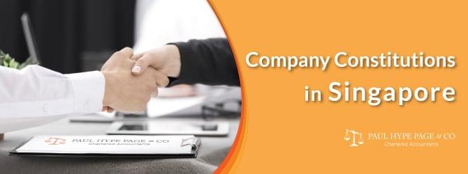 Singapore Company Constitutions