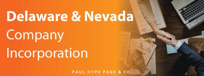 Delaware Nevada Company Incorporation in SG