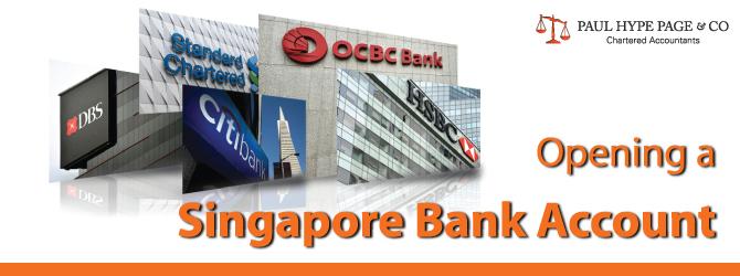 Singapore Bank Account