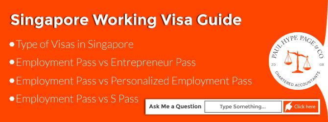 Singapore Working Visa