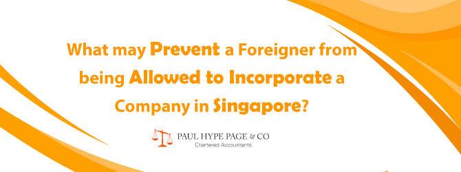 Incorporate a Company in SG