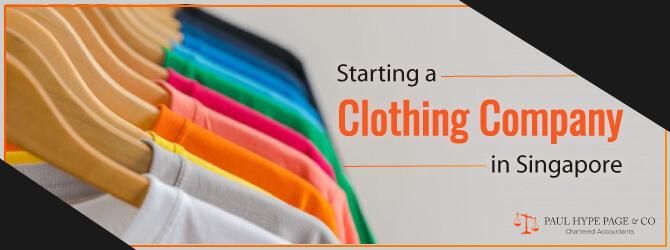 Starting a Singapore Clothing Company